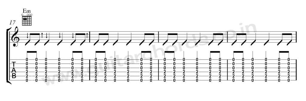 Guitar Strumming Pattern 05