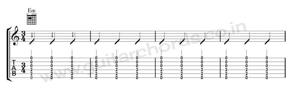 Guitar Strumming Pattern 07